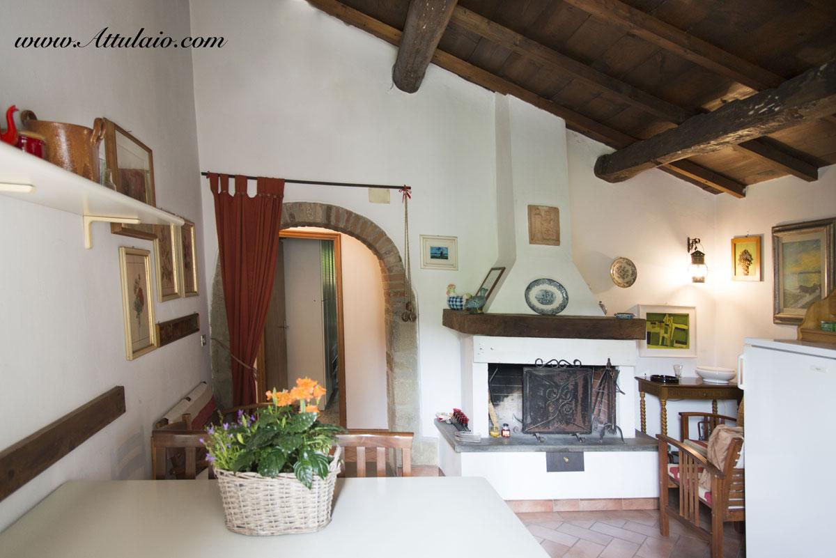 Appartamento Le Scalette - Agriturismo Attulaio Vicchio Mugello Toscana